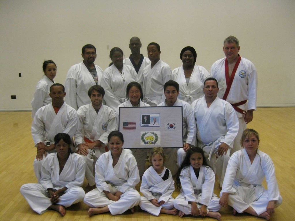 Students of WISK Soo Bahk Do led by Kyo Sa Michael Wilson in Arizona